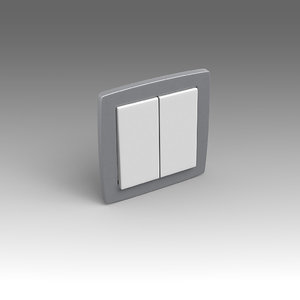 electrical switch 3d fbx