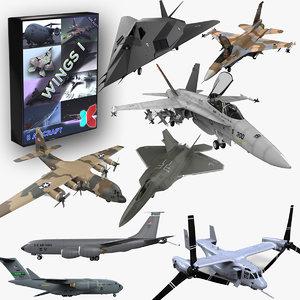 lwo 8 modern military aircraft
