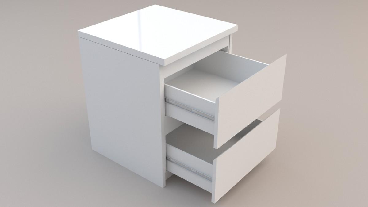3d model ikea malm