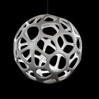 3d model lamp light kairos suspension