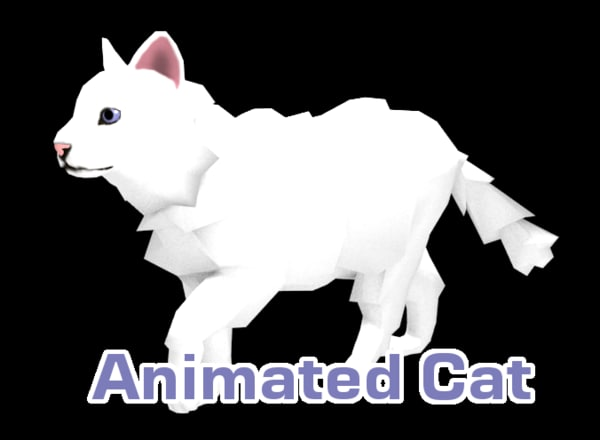 cat animations 3ds