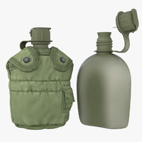 1QT Military Canteen 7 (Army Green)