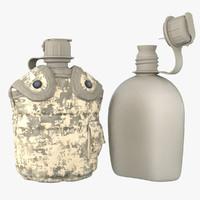1QT Military Canteen 9 (Digital)
