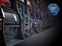Mega Wall Sci Fi