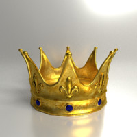Golden Jeweled Crown