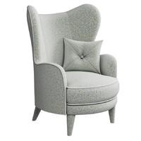 armchair kay 3d max