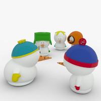 snowman 3d max