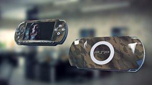 free obj model psp playstation portable