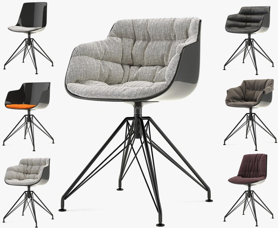3dsmax flow chair slim