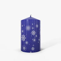 3ds max candle christmas
