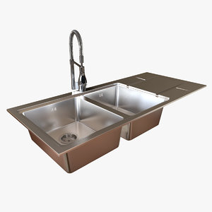 foster s4000 sink tap 3d max