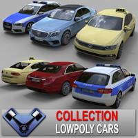 Lowpoly Car Set 02