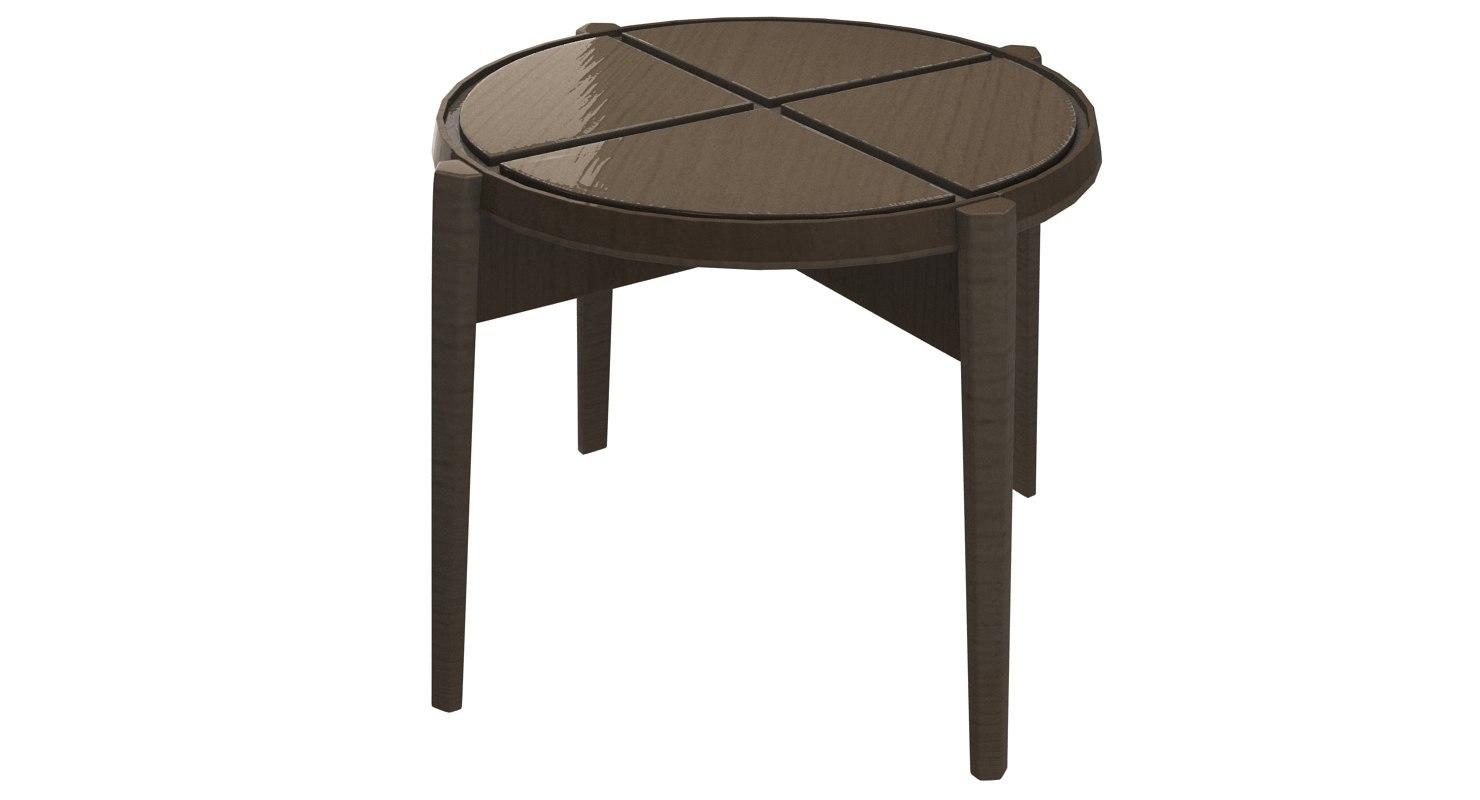 cross frigerio table 3d model