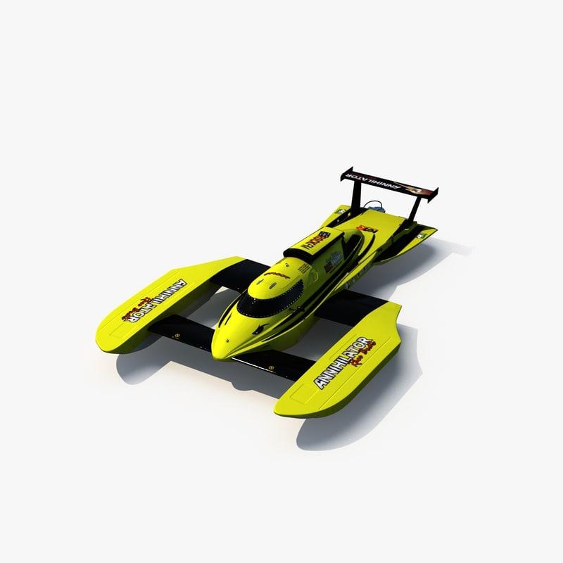 3dsmax annihilator hydroplane