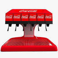 3d model drink machine