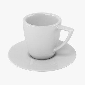 3d espresso cup model