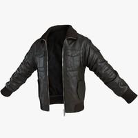 man s jacket 3d max