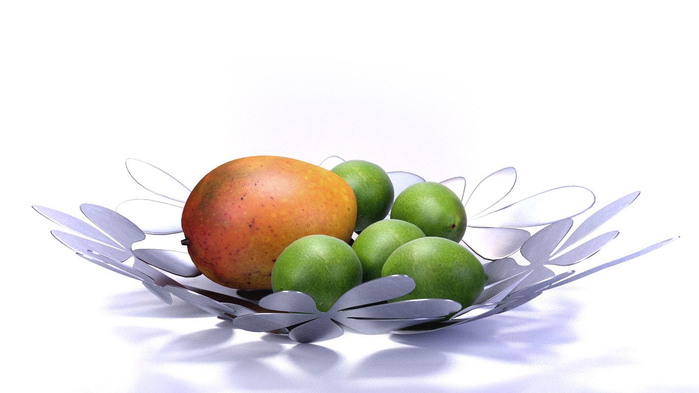 3ds fruit basket
