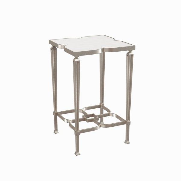 3d model lucky charm table caracole