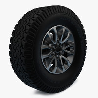 F-150 SVT Raptor wheel
