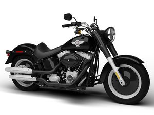 harley-davidson fat boy 2012 obj