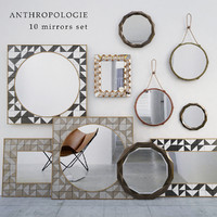 Anthropollogie Mirrors set