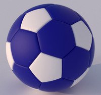 3ds max soccer ball