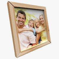 free frame 3d model