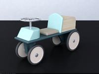 kid s walker 3d model