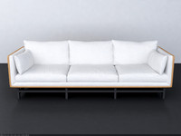 stellar works  SW SOFA THREE-SEATER