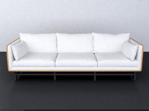 stellar works sofa seater 3d max
