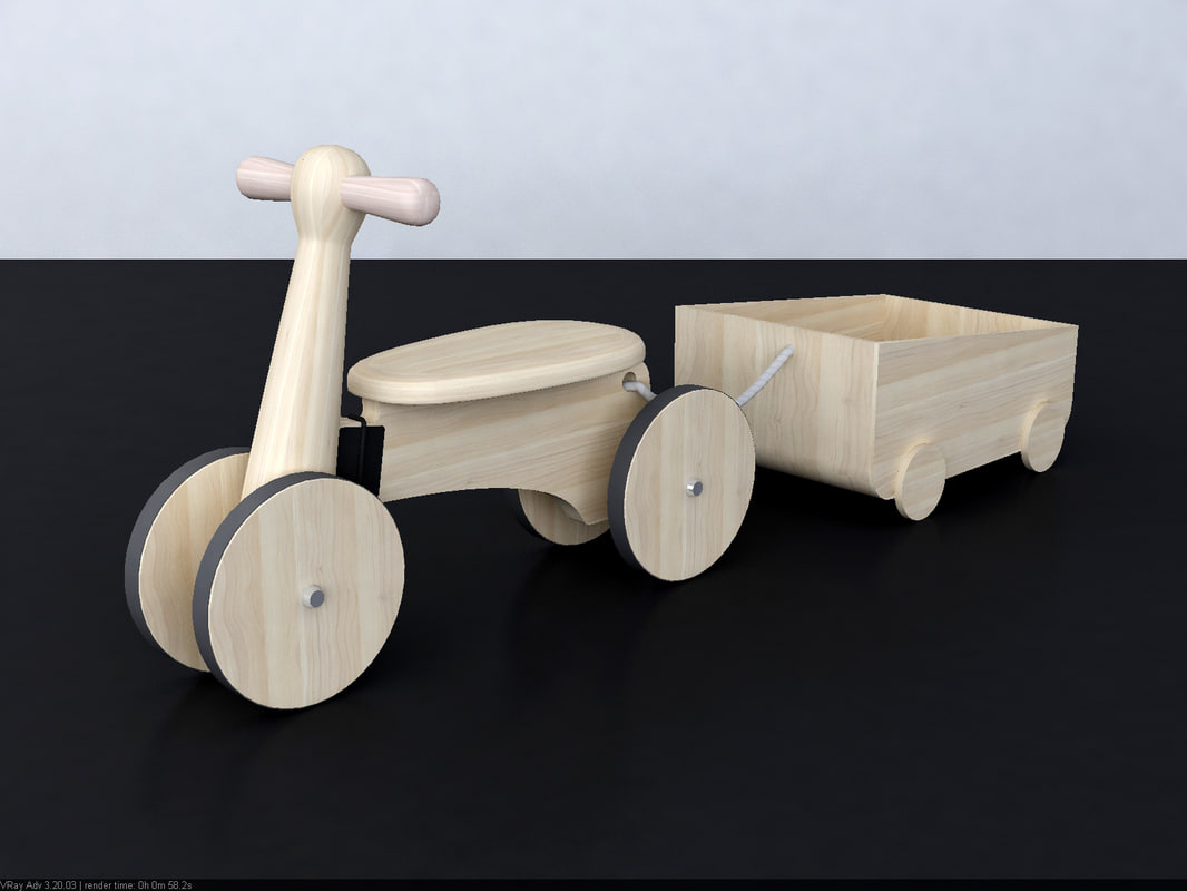 3d wooden toy