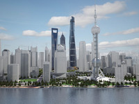 Shanghai Tower Downtown