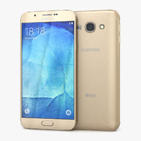 Samsung Galaxy A8 or A8 Duos Champagne Gold