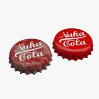 max nuka cola bottle cap