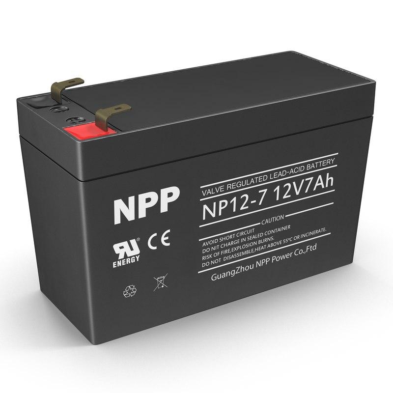 3ds max 12 volt battery