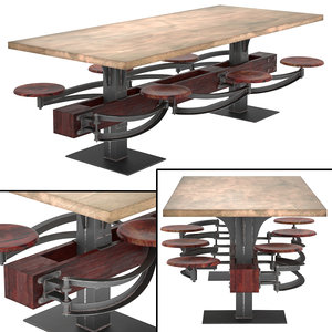 max perrin communal table attached