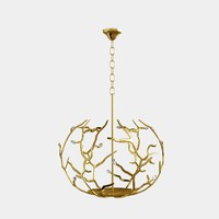porta romana blossom chandelier 3d model