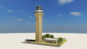 air traffic control tower 3ds
