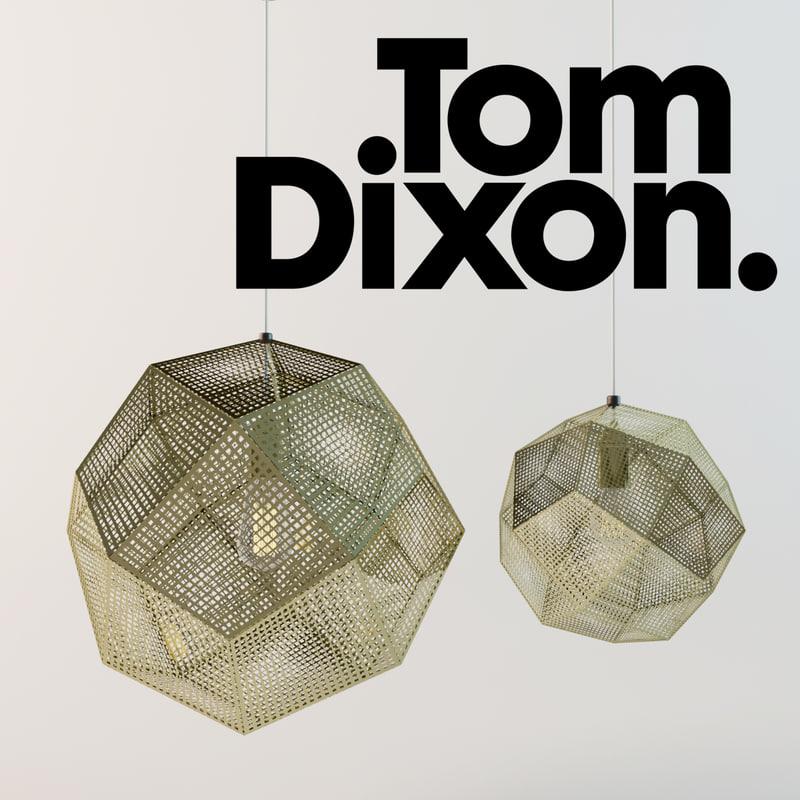 3d model etch shade lamp tom dixon