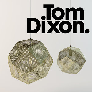 3d model etch shade lamp tom dixon