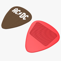 2 plectrums 3d 3ds