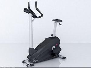 3d model fitlux 5000 gym equipment