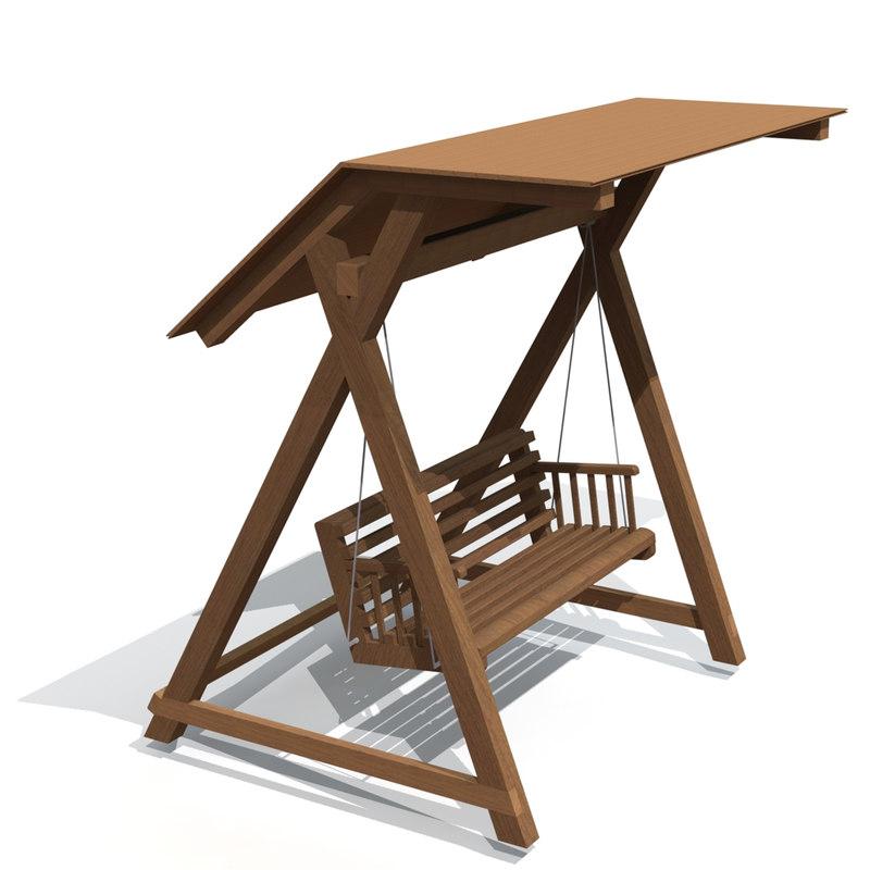 3d ige swing bench