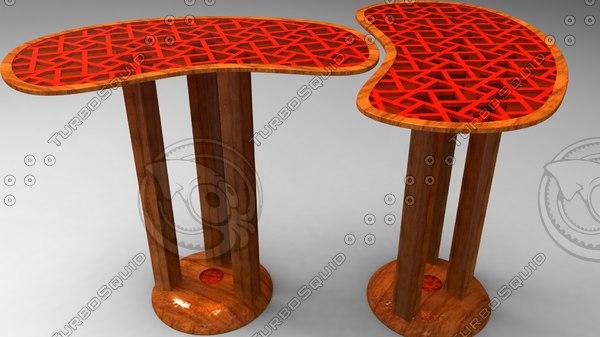 dxf designer table
