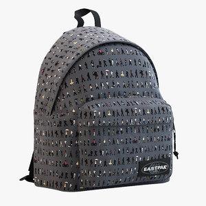 3d eastpak pak r backpack model