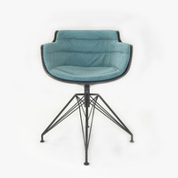 3d model slim armchair