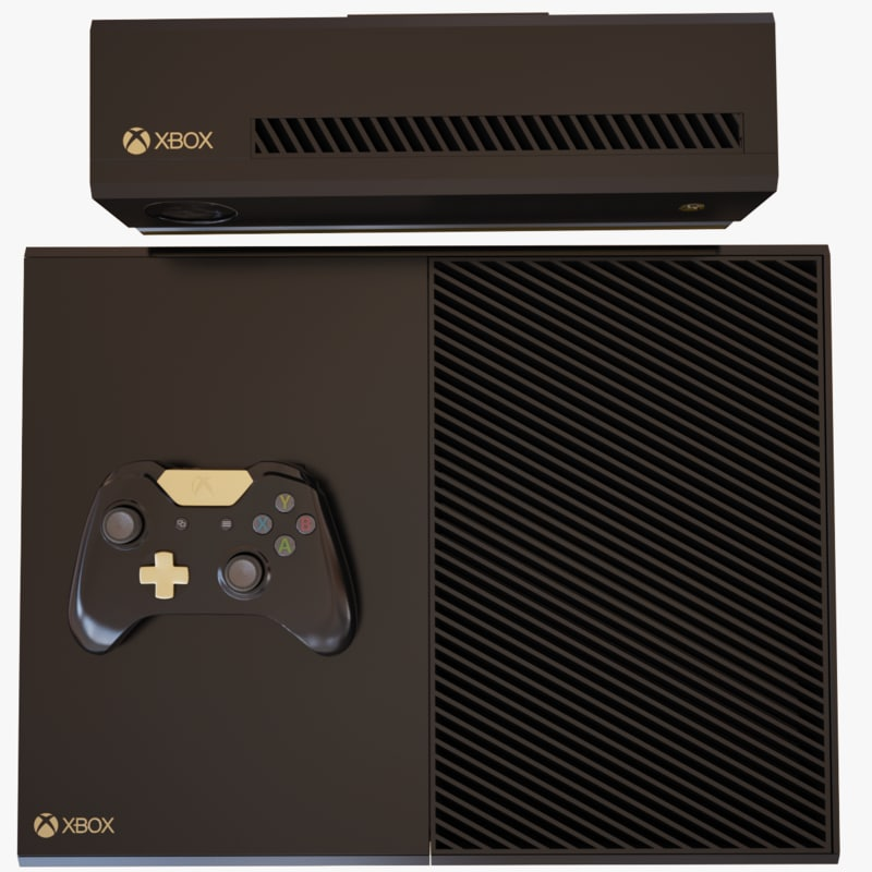 max xbox console modeled