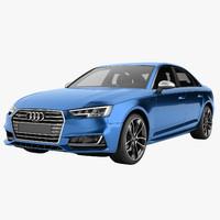 s4 2017 sedan 3d model