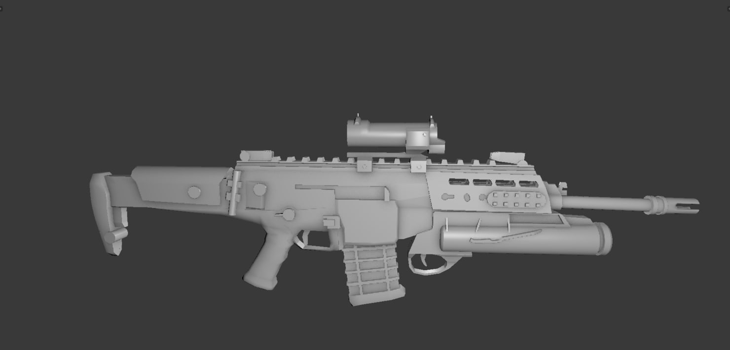 3ds max arx 200 rifle grenade launcher